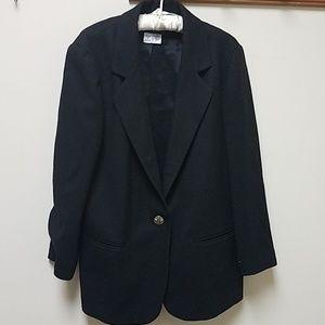 Sag Harbor petite wool coat